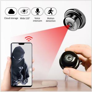 1080P IR Wireless WiFi CCTV Indoor &Outdoor MINI IP Camera CAM Home Security UK