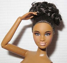 NUDE BARBIE ~ RAVEN AA NIGHT OUT MBILI ARTICULATED MODEL MUSE DOLL FOR OOAK