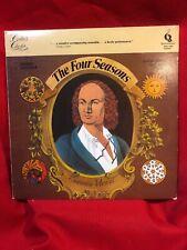 VIVALDI THE FOUR SEASONS OP. 8 Concerto Amsterdam Jaap Schroder LP 33rpm [ed5]