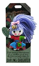 """Watchover """"Darling Daughter"""" Voodoo Doll Keyring Christmas Gift Collectable"""