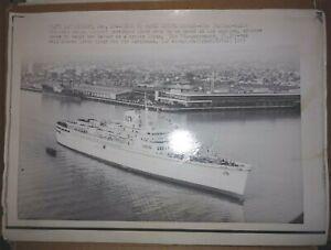 Italian Liner Princess Carla Begins Cruise Career 1969 Original Photo
