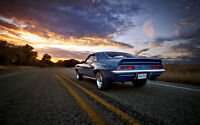 CAMARO SS VINTAGE NEW A3 CANVAS GICLEE ART PRINT POSTER FRAMED