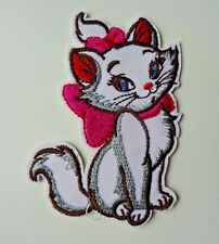 Disney MARIE ARISTOCATS Embroidered Iron On/ Sew On Applique Patch