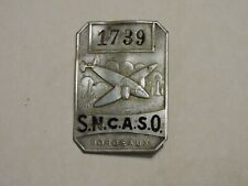 INSIGNE BADGE S.N.C.A.S.O  BORDEAUX