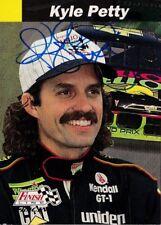 Kyle Petty signed 1993 Finish Line trading card NASCAR