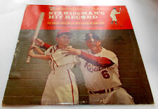 Stan Musial Stan The Mans Hit Record 1963 RCA PR141 + Booklet 33rpm LP Strong VG