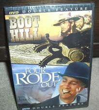Boot Hill Terrence Hill & Four Rode Out Leslie Nielsen Factory Sealed DVD