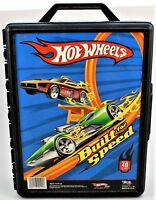 Hot Wheels Carrying Hard Plastic Case 48 Cars Built for Speed Tara Toy Corp