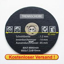 Meule de tronçonnage pour Proxxon FKS/E et FET (85x1, 2x10 mm)