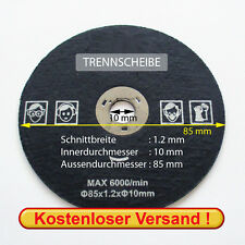 Ingletadora para Proxxon ECT/e y Fet (85x1,2x10 mm)