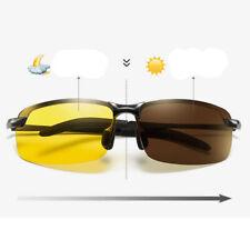 Day Night Vision Men's Polarized Photochromic Glasses Driving Sunglasses Eyewear