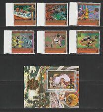 Comores république  jeux olympiques  1979  poste et PA et BF **