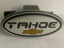 "Chevrolet Tahoe  2"" Tow Hitch Cover Plug Engraved Pre-owned"