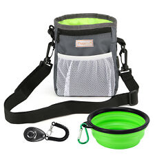 Pet/Dog Food/Snack/Treat/Bait Training/Jogging/Walking Waist Bag/Pouch with Clip