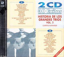 Los Diamantes Los Tecolines Los Tres Ases Los Grandes Trios Vol 2 2CD New Sealed