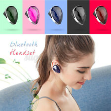 New listing bluetooth Mini Stereo In-Ear Headphones Led Earbuds Wireless Headset Ster