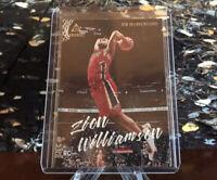 2019-20 Panini Chronicles ZION WILLIAMSON Luminance #143 RC Rookie Card Pelicans