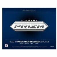 20-21 PANINI PREMIER LEAGUE PRIZM SOCCER FACTORY SEALED HOBBY BOX FREE SHIPPING