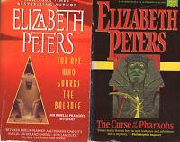 Complete Set Series - Lot of 20 Amelia Peabody Mysteries by Elizabeth Peters