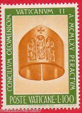 POSTE VATICANE1966 CONCILIUM OECUMENICUM VATICANUM II Lire 100 [A]