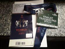 Uefa Champions League 2011 Final Ticket + Pass