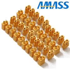20 Pairs 40pcs amass XT60 xt-60 Power Plug Connectors for RC Lipo Battery