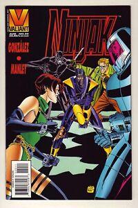 Ninjak #20 - August 1995 Valiant - Colin King as Ninjak - Near Mint (9.4)