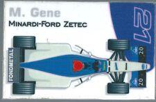 Aimant magnet Prost 1999 Formule 1 Formula 1 F1 Marc Gené Fondmetal Minardi