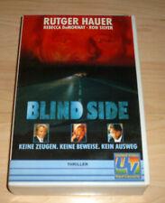 VHS Film - Blind Side - Rutger Hauer - Ron Silver - Thriller - Videokassette