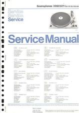 Philips Original Service Manual Phono 22 GC 027