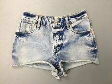 Womens River Island Denim Hot pants/Shorts - UK6 - Faded Navy - Great Condition