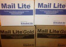"""Mail LITE/Lites Borse imbottite buste """"Tutte Le Taglie's + Corriere 24H-Bianco & GOLD"""
