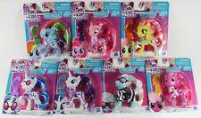 "Lot of 7: My Little Pony Movie 3.5"" Mini-Figure - Rainbow Rarity Pinkie DJ Pon-3"