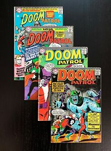 Doom Patrol 106-109, Classic DC Silver Age Series, VG to VF