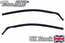 Seat Ibiza mk4 3door coupe 2009-2017 wind deflectors 2pc HEKO TINTED