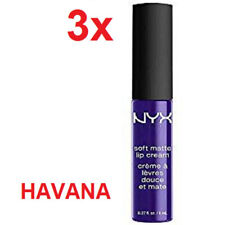 3 OF ⭐️ NYX SOFT MATTE LIP CREAM HAVANA 3* 8ML ⭐️ SMLC26 ⭐️ LA