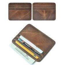 Fashion Mens Leather Thin Wallet ID Money Credit Card Slim Holder Money Pocket