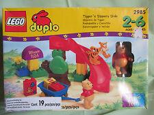 Brand New in Box Lego Duplo Winnie the Pooh Tigger's Slippery Slide #2985 RARE!!