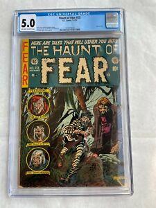 Haunt Of Fear #23 CGC 5.0 Universal Grade EC Comics 1954 Pre-Code Horror