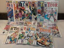 Mighty Thor Lot 17! 307, 325, 351, 353-363, 367, 368, 371 1st app Kurse Hela