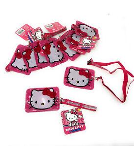 Pink Hello Kitty LANYARD keychain BREAKAWAY Authentic SANRIO Fashion NWT