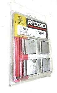 "RIDGID 37880 Threading Die 4-Pack HS 1"" NPT 11-1/2 TPI RH 12R"