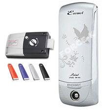 EVERNET POINT-I Electric Door Lock Keyless Digital Passcode + 4 IC Keys Silver