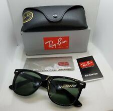 NEW Ray-Ban RB2140 Large Black WAYFARER 901 54MM Sunglasses