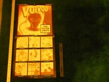 Voivod The Outer Limits promotional poster rare 2 and a half feet by 16 inches