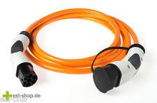 Typ2 Qualitäts - Ladekabel für Elektroauto (Mode 3) 20A 3-phasig 7 Meter z.B.Zoe