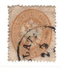 $ Austria Lombardy Venetia Scott #19 used, fine-VF, thin