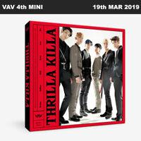 VAV Thrilla Killa 4th Mini Album CD+Photobook+Photocard+Etc+Tracking Num