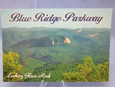 BLUE RIDGE PARKWAY LOOKING GLASS ROCK NORTH CAROLINA N.C. Postcard