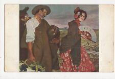 Ign Zuloaga Ein Pikantes Wort Vintage Postcard 245a